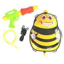 waterpistool met tank 35,5 cm zwart/geel 5-delig