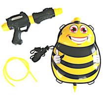 waterpistool met tank 35,5 cm geel/zwart 5-delig