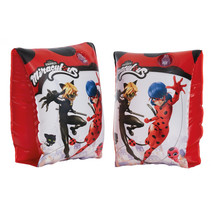 zwemvleugeltjes PVC rood/wit one-size 2 stuks