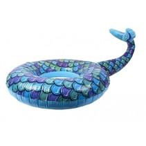 zwemband met zeemeerminstaart blauw