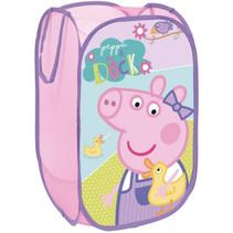 opbergbox Peppa Pig 36 x 58 cm polyester roze