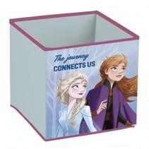 Frozen 2 opbergbox 24 liter polyester/katoen blauw