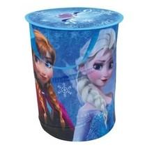 Frozen wasmand Pop Up meisjes blauw 35 x 44 cm