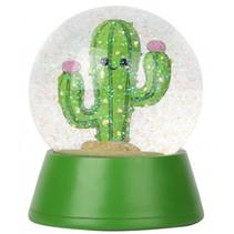 schudbol Cactus junior 16 x 14,5 cm ABS groen