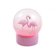 schudbol Flamingo meisjes 16 x 14,5 cm ABS roze