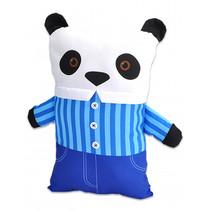 kussen Pillowkins panda junior 38 x 22 cm katoen