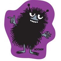 kussen Moomin 40 x 40 cm polyester paars