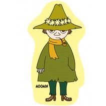 kussen Moomin 40 x 40 cm polyester geel