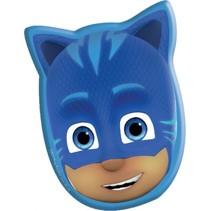 kussen PJ Masks 35 cm blauw