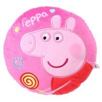 rond kussen Peppa Pig pluche meisjes roze 30 cm