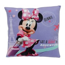 Minnie Mouse Kussen meisjes paars 34 x 34 x 11 cm