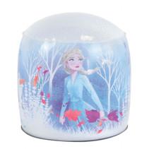 Frozen opblaasbare lamp meisjes 15 x 13 cm wit/multicolor