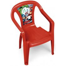 kinderstoel Avengers junior 36,5 x 30 x 50 cm rood