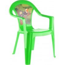 kinderstoel Jungle 51 cm groen