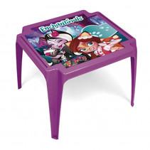 tafel Enchantimals junior 50 x 55 x 44 cm paars