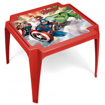 tafel Avengers junior 50 x 55 x 44 cm rood