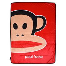 fleece deken junior 150 x 200 cm rood