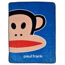 fleece deken junior 150 x 200 cm donkerblauw