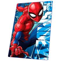fleecedeken Spider-Man jongens PE 150 x 100 cm rood/blauw
