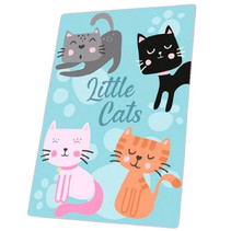 fleecedeken Little Cats 100 x 150 cm polyester
