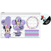 haaraccessoires-set Minnie Mouse paars 9-delig