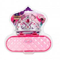 verkleedaccessoires Princess meisjes roze 3-delig