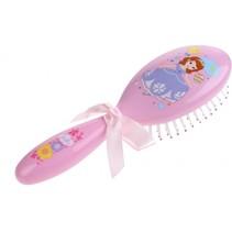haarborstel Sofia 15 cm roze