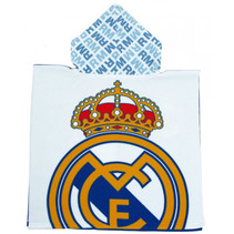 badponcho Real Madrid junior microvezel one-size