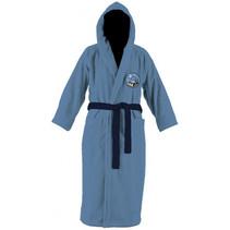 badjas Batman jongens katoen grijsblauw