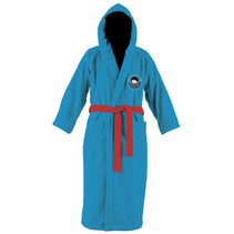 badjas Superman jongens katoen blauw/rood mt 122/128