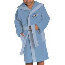 badjas The Avengers jongens katoen lichtblauw mt 98/104