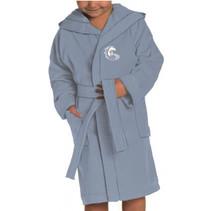 badjas Frozen junior katoen ijsblauw
