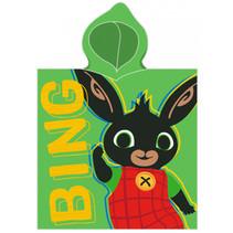 badponcho junior 50 x 115 cm katoen groen