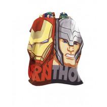 poncho Avengers 55 x 55 cm polyester