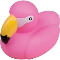 badeend flamingo 9 cm roze