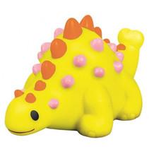 baddier dino met licht junior 9 x 6 cm geel