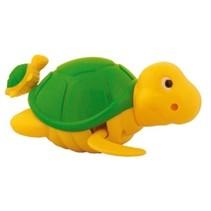 Badfiguur Schildpad geel/groen 14 cm