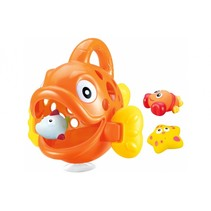 badspeelgoed Hungry Fish oranje junior 23 x 23 x 20 cm