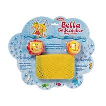 opbergnet voor badspeelgoed 40 x 50 cm geel