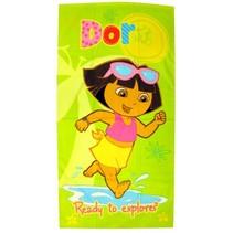 Dora badlaken groen junior 70 x 140 cm