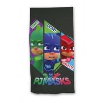 strandlaken PJ Masks 140 x 70 cm zwart