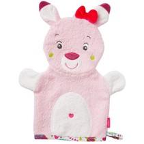 washand hert roze 26 cm