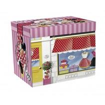 Minni Mouse opbergbox/speelmat 30 x 30 x 30 cm