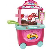 speelgoedkeuken snoep roze 38 cm