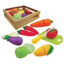 groentemand met groente 23 cm 9-delig