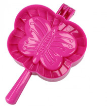 koekjespers vlinder junior 17 x 9 x 4 cm roze