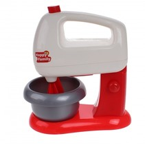speelgoed keukemachine junior rood/wit 16 cm