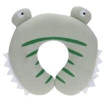 nekkussen krokodil 26 cm microvezel groen