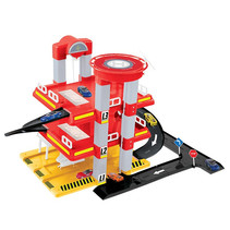speelgarage City Garage junior 59 x 47 cm rood