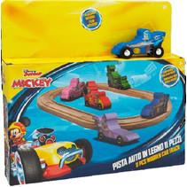 racebaanset Mickey Mouse junior 11-delig
